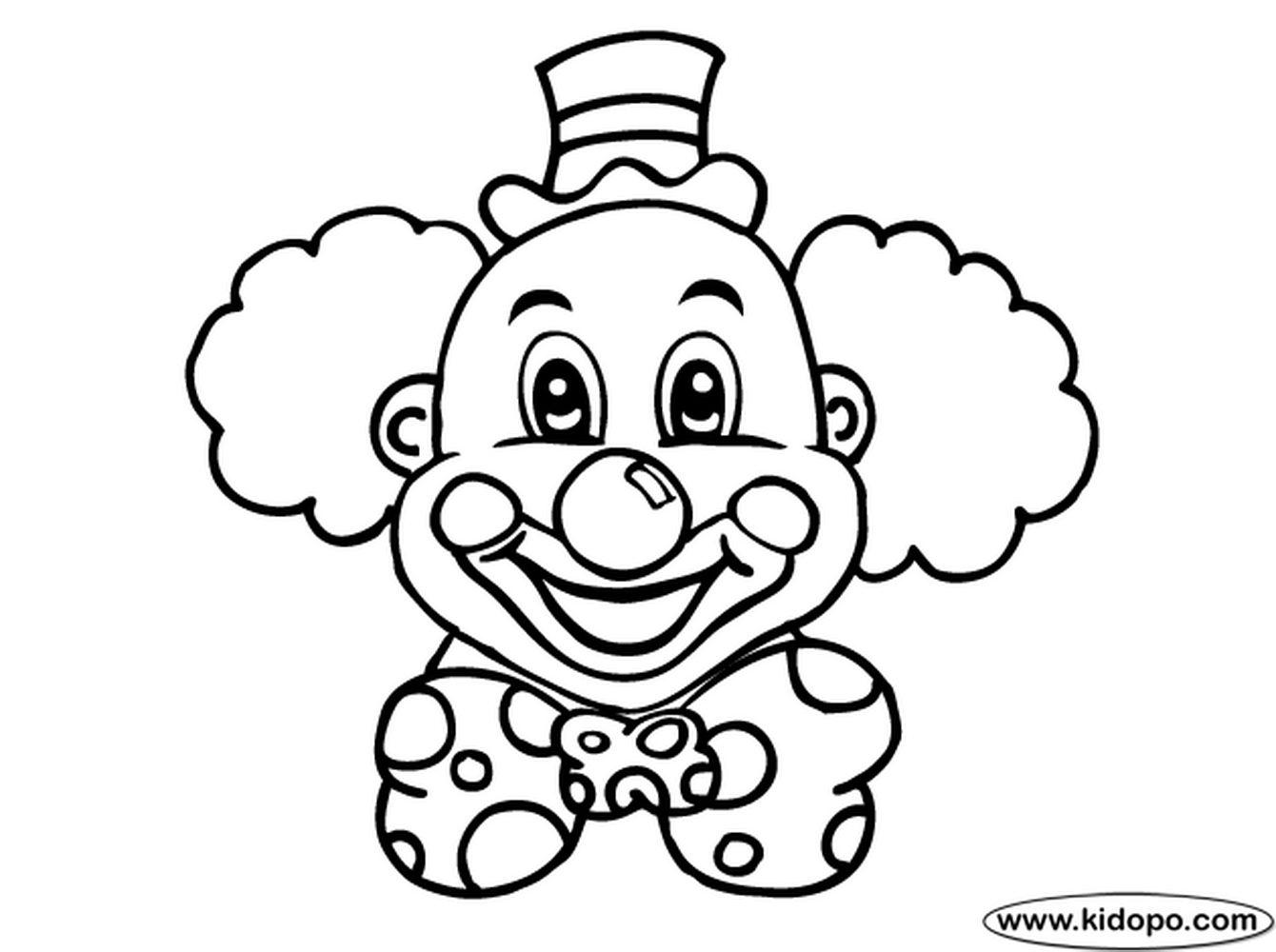 Как нарисовать лицо клоуна как нарисовать клоуна карандашом 20