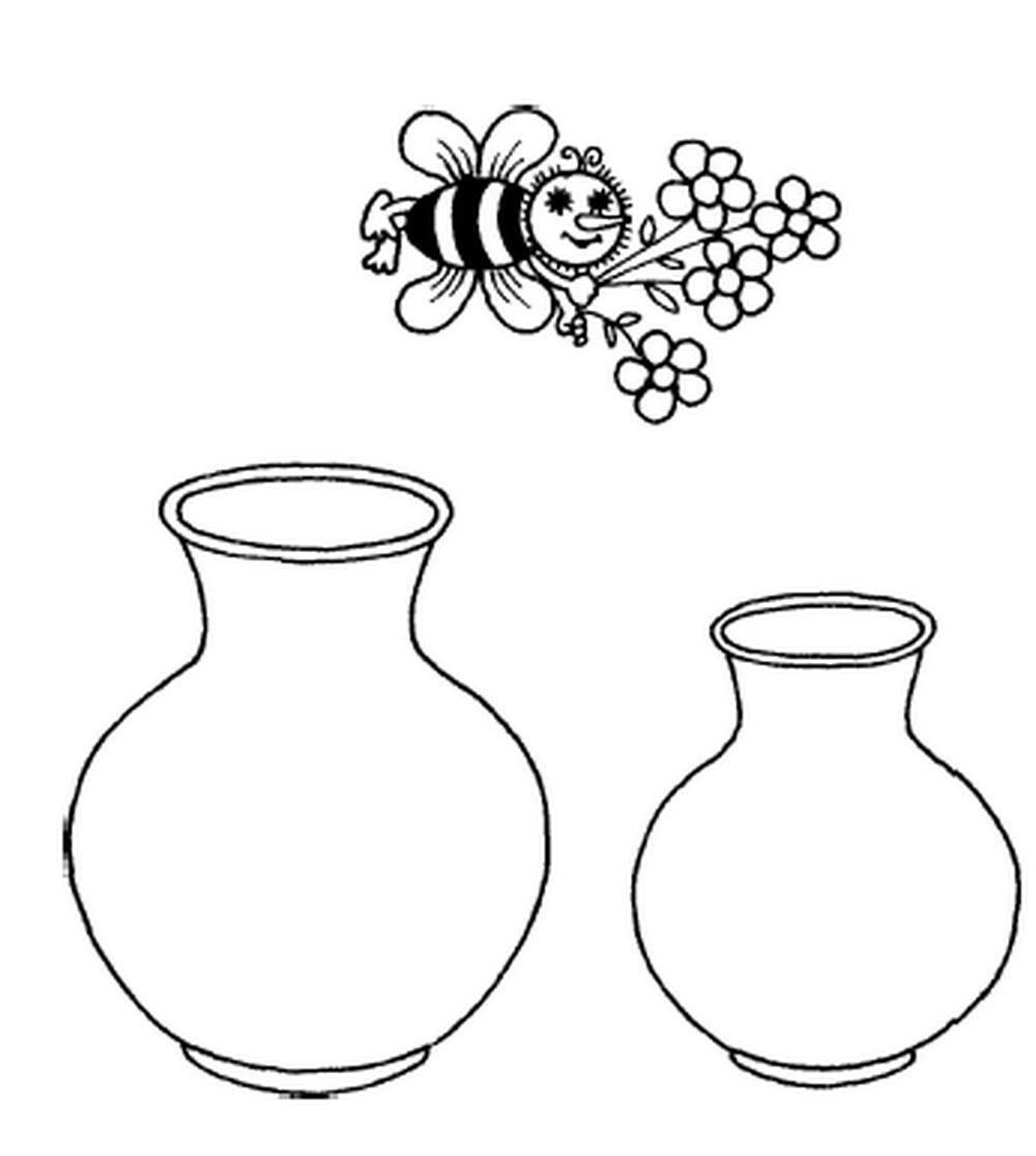 фото вазы рисунки