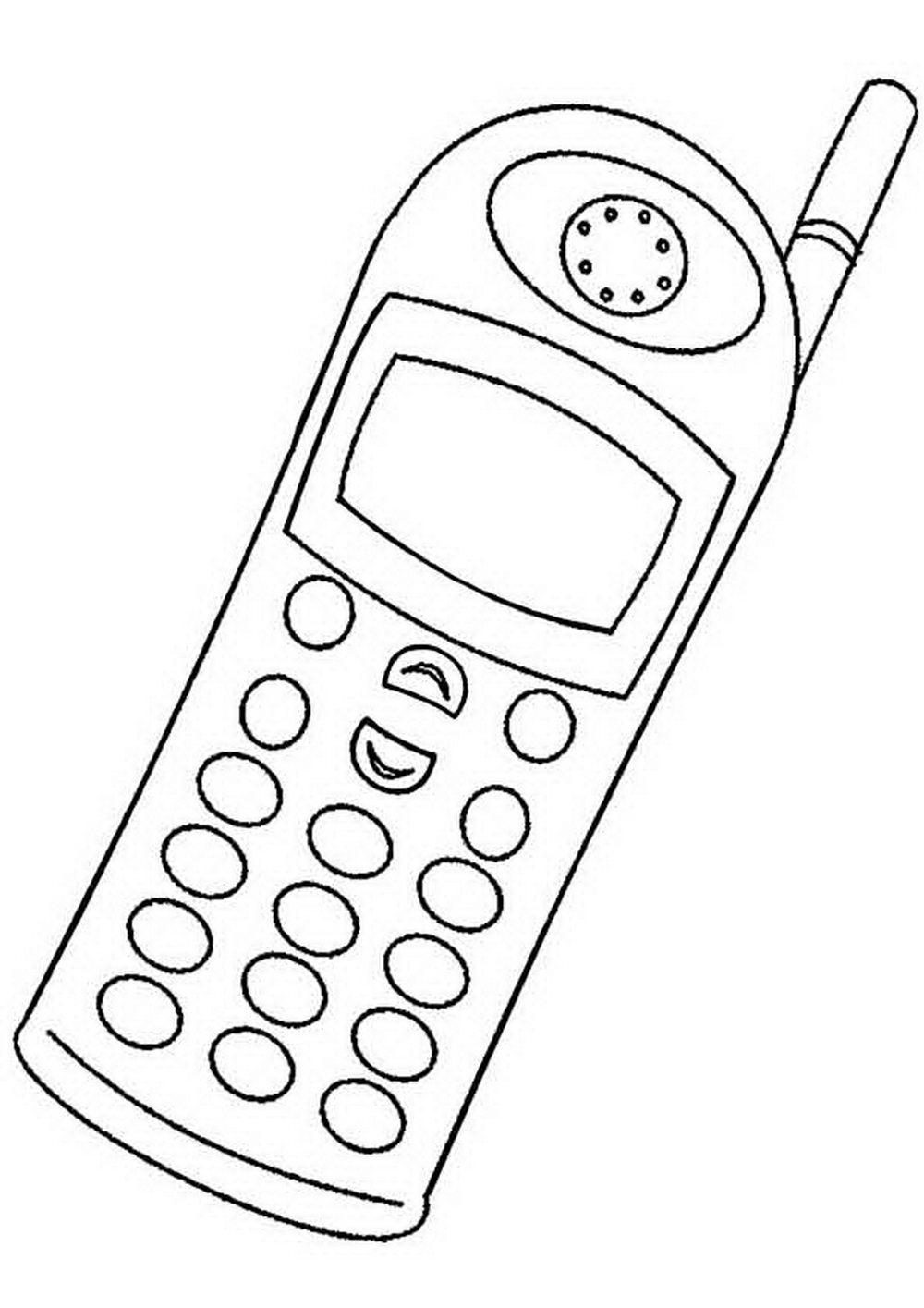 картинки телефонов рисунки