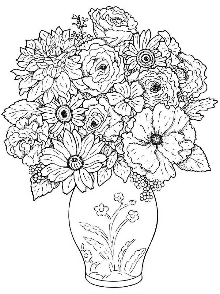 Цветы  взрослые