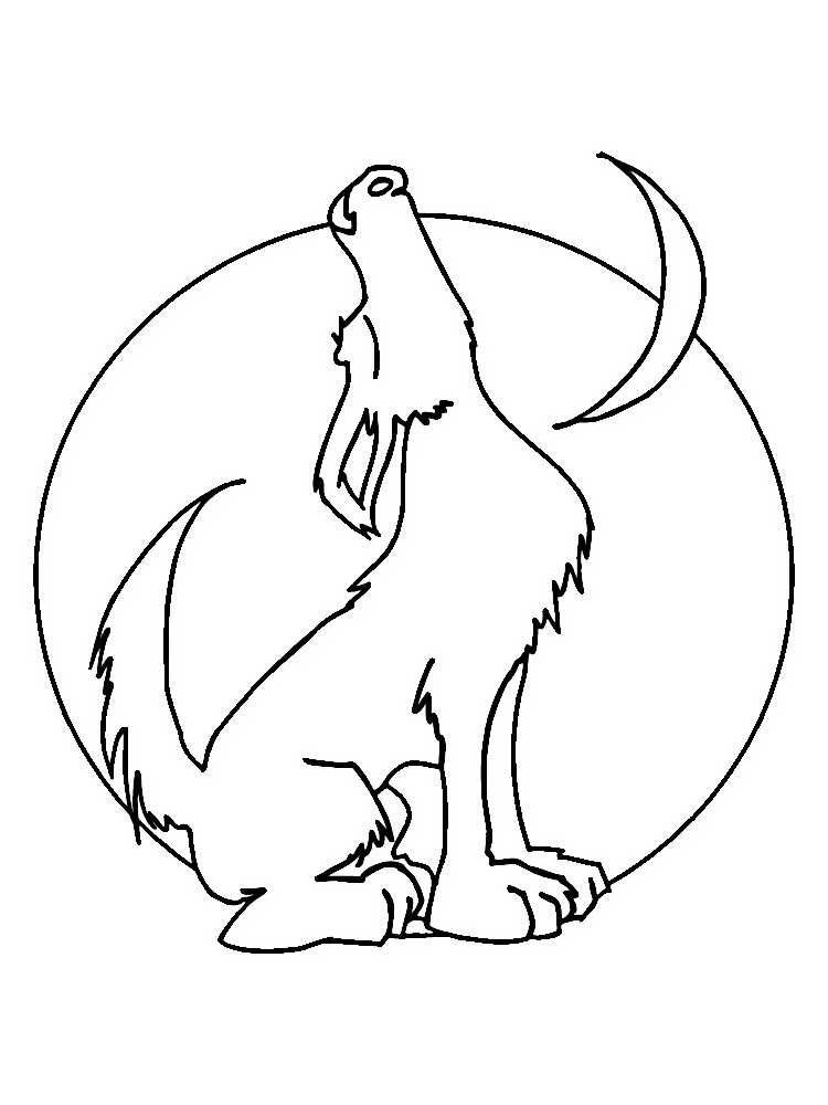 раскраски волк скачать и распечатать бесплатно рисунки