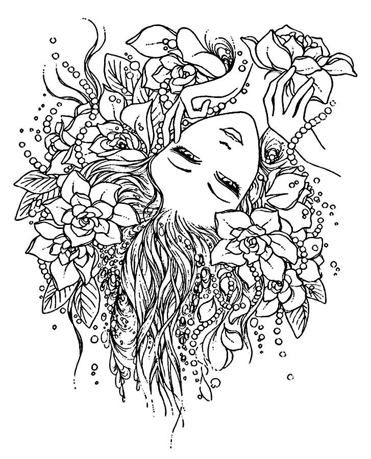 антистрессовые рисунки для раскрашивания распечатать
