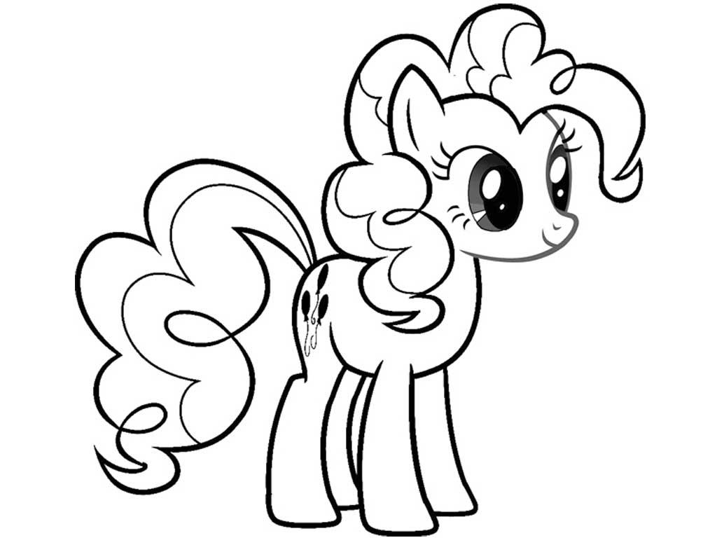 Раскраска пони распечатать