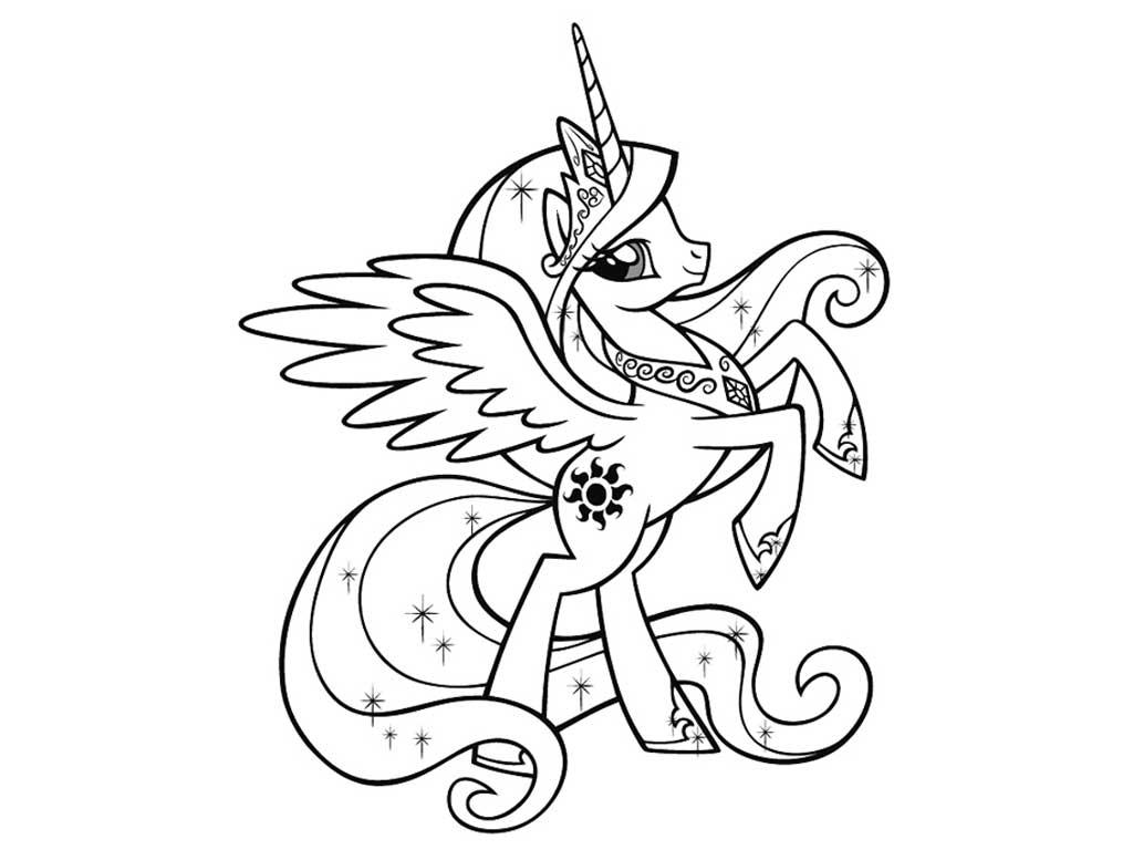 раскраска май литл пони раскрашивать онлайн Letterbike