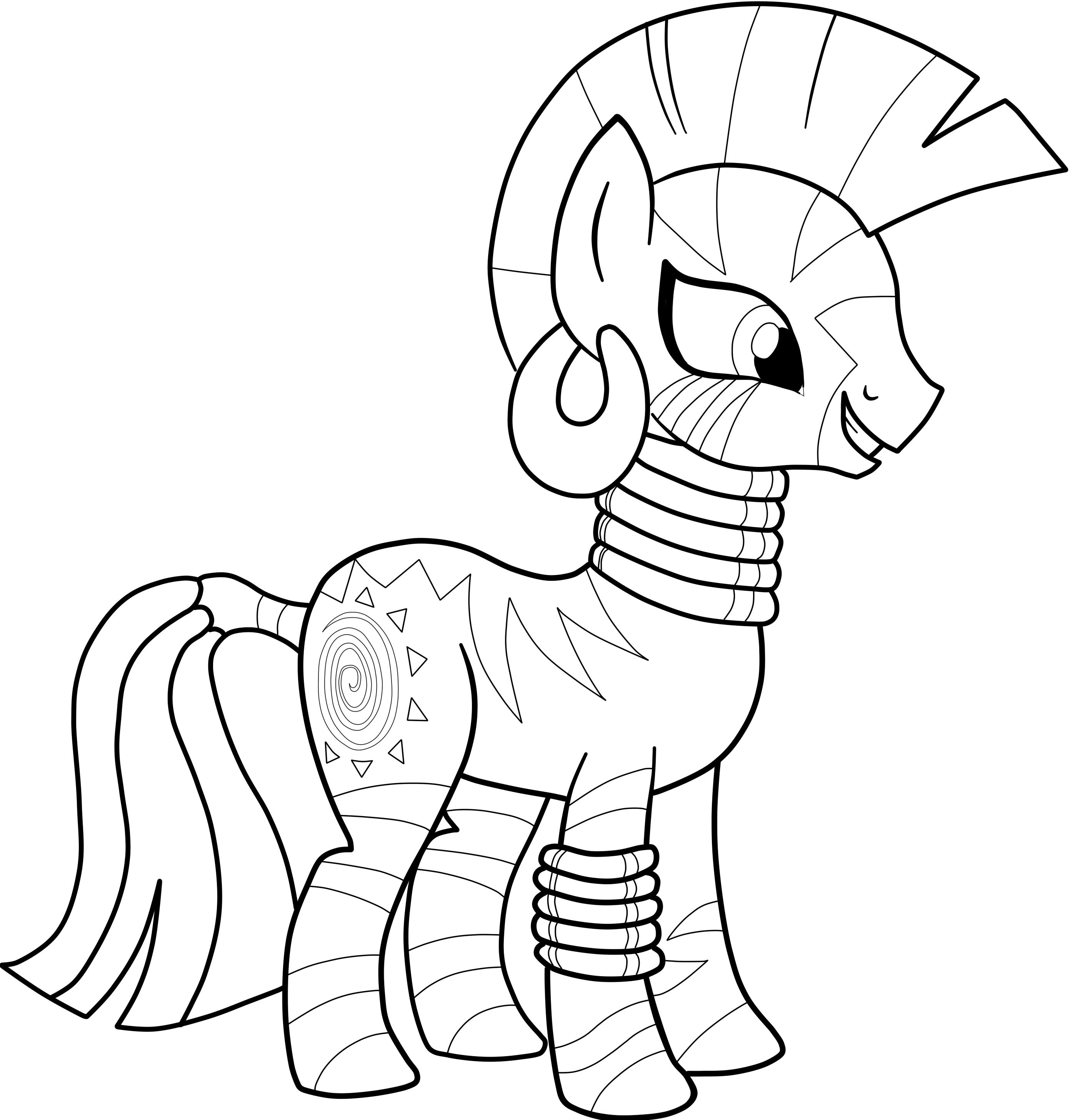 Литтл пони раскраски