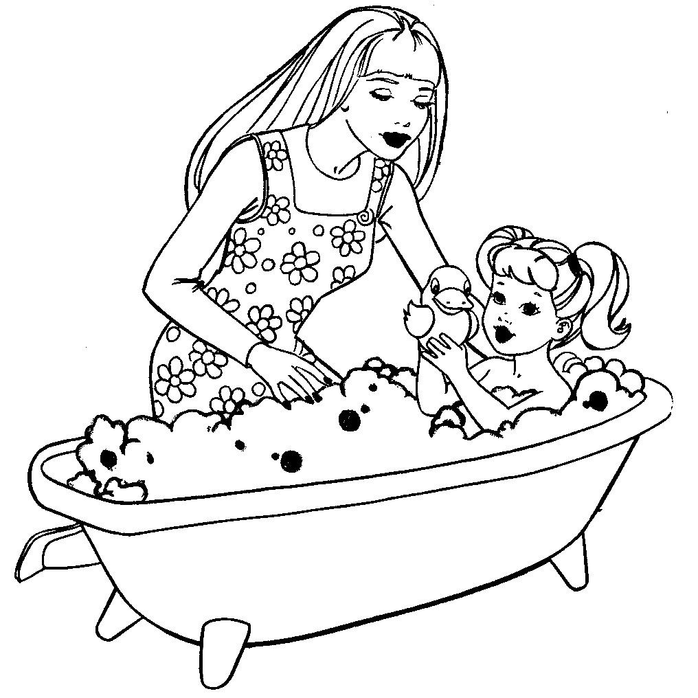 Распечатать раскраски для девочек 3 4 лет - 8