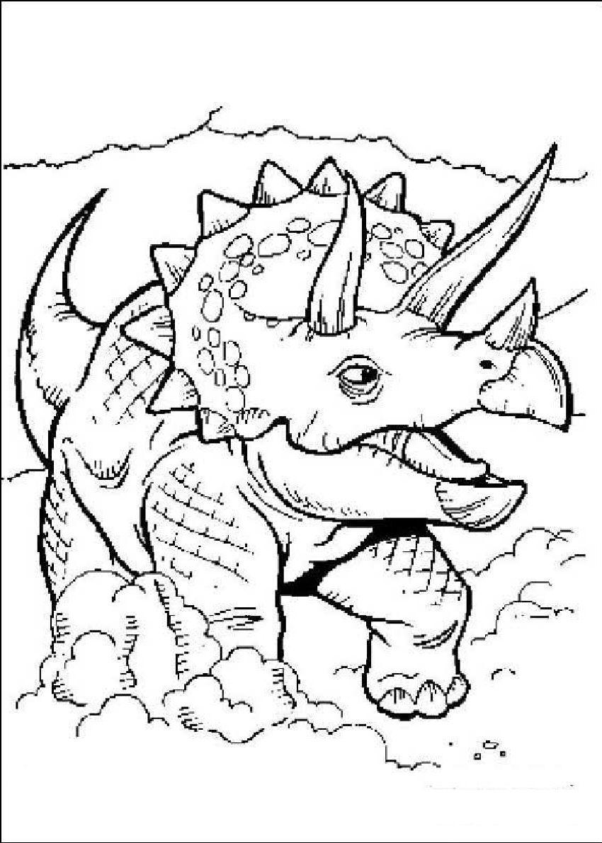 Игры раскраски динозавров бесплатно