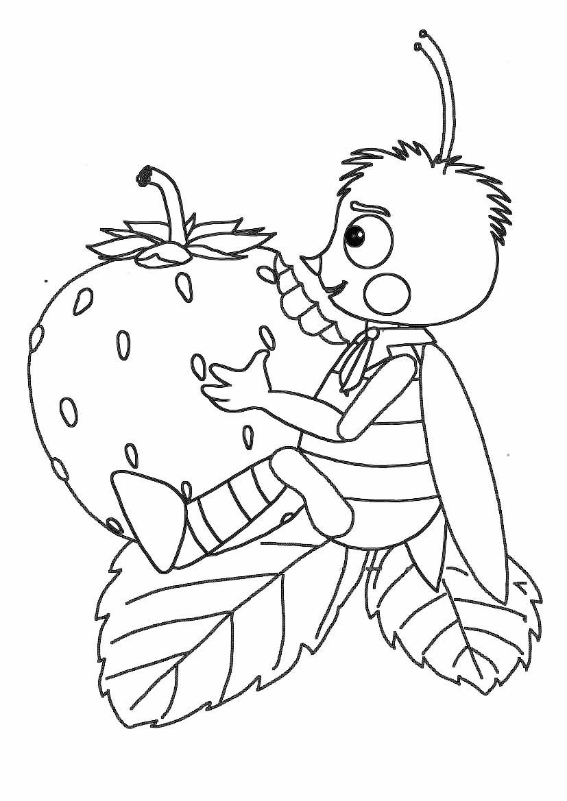 Раскраска для девочек лунтик онлайн бесплатно