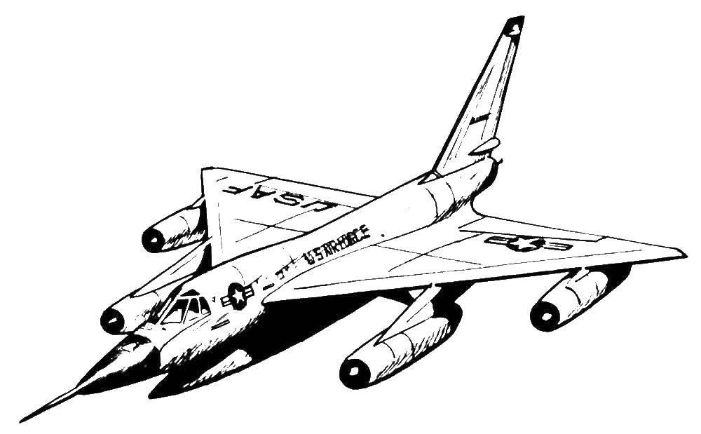 раскраски самолеты скачать и распечатать бесплатно рисунки