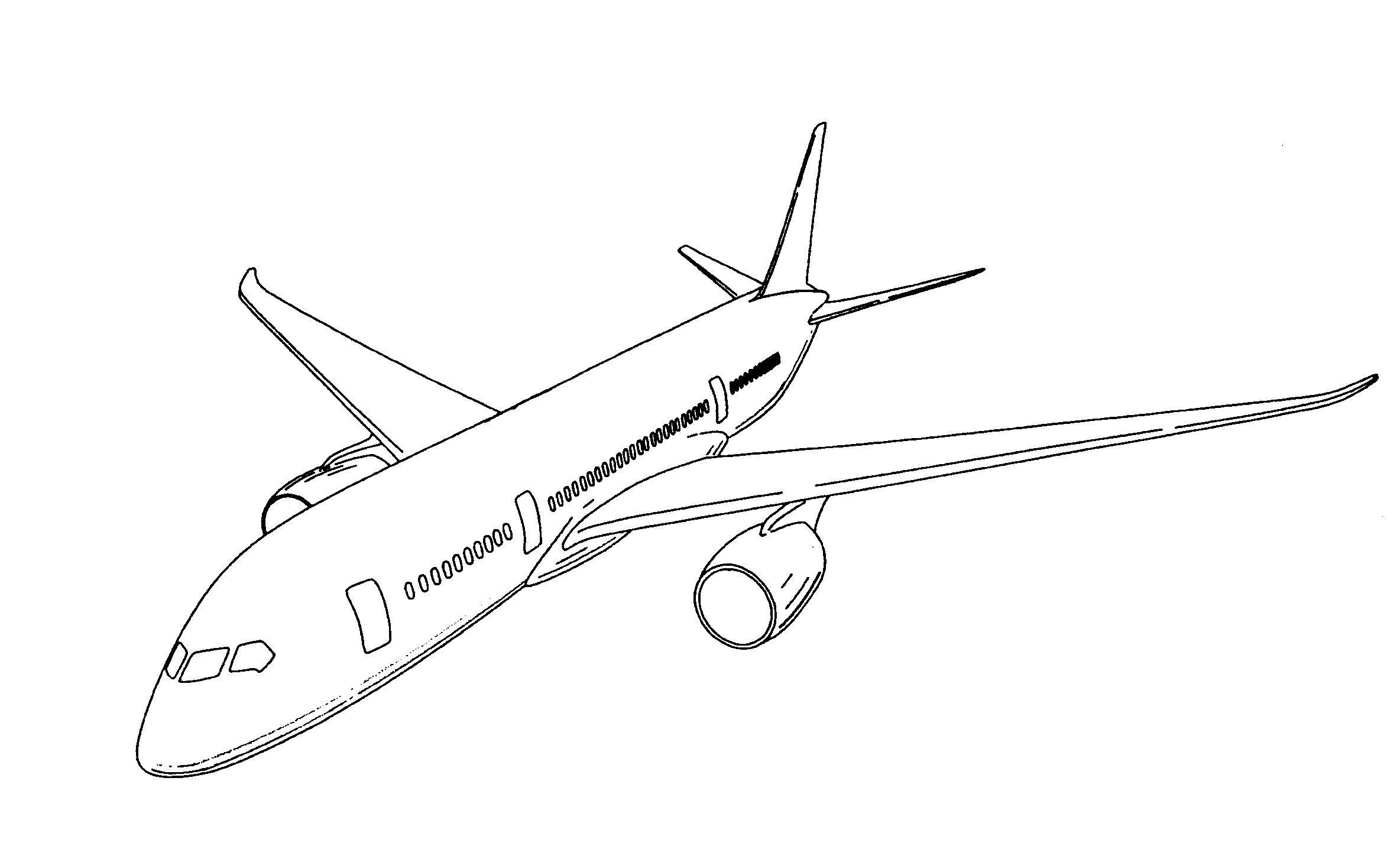 Самолет картинки для раскраски