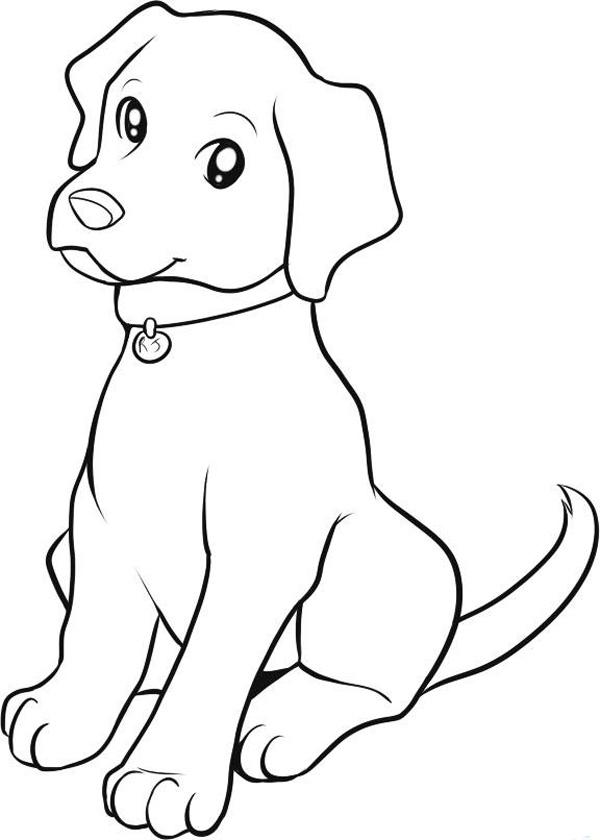 раскраски собаки скачать и распечатать бесплатно рисунки